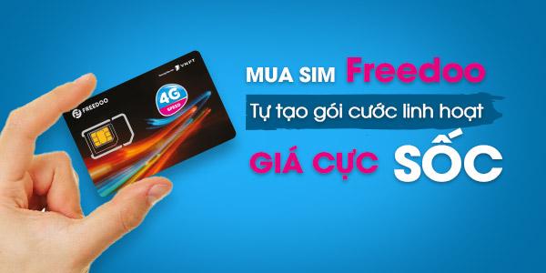 SIM Freedoo 0886 trả trước