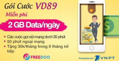SIM FREEDOO VD89 CARD