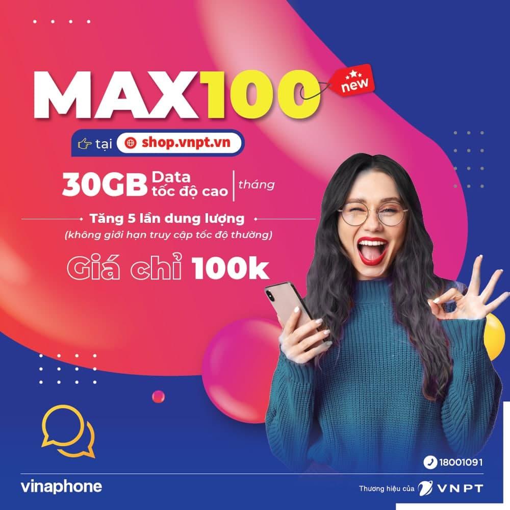 Gói cước Max100